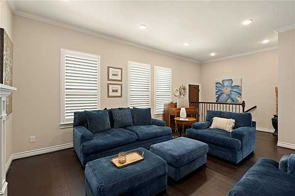 Photo #8 Plantation shutters throughout the home.