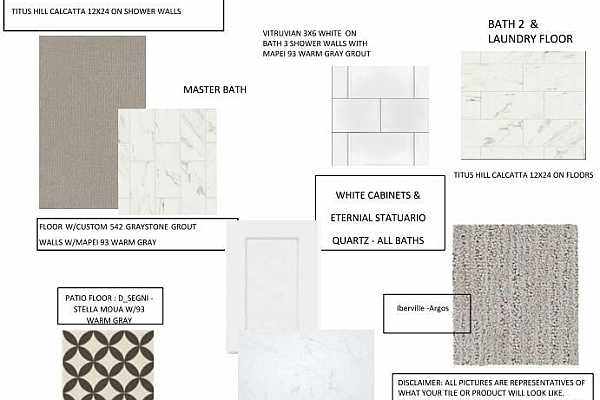 Photo #3 Design Selections~ This home is under construction and selections are subject to change.