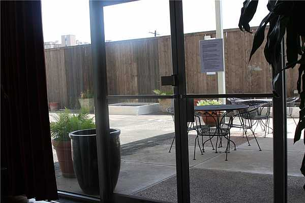 Photo #6 Outside sitting area for Tenants.