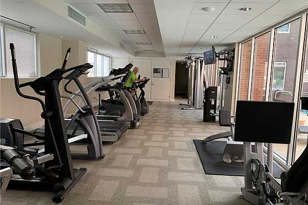 Photo #18 Fitness Room W/  machines & free weights