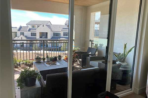 Photo #30 Large covered terrace on 3rd level has room for lots of outdoor furniture and comfortable sitting areas