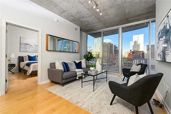 Photo #2 Enjoy views of the Austin Skyline from your own balcony!