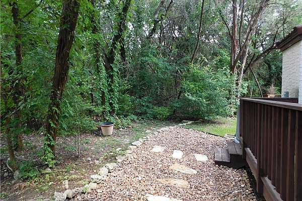 Photo #32 Path off back porch up hill