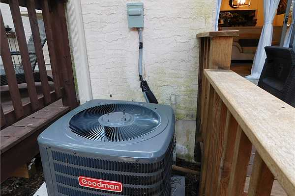 Photo #36 Recent replacement of AC condensing unit