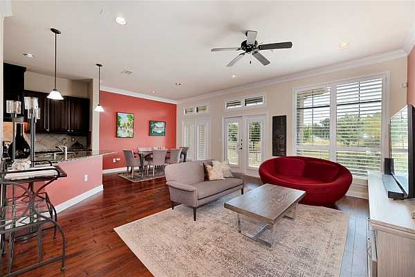 Photo #3 The open-concept floorplan makes it easy to entertain family and friends.