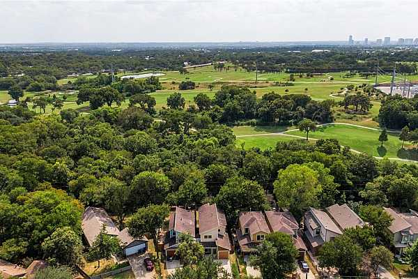 Photo #35 This home backs to Morris Williams golf course, adding to its sense of privacy