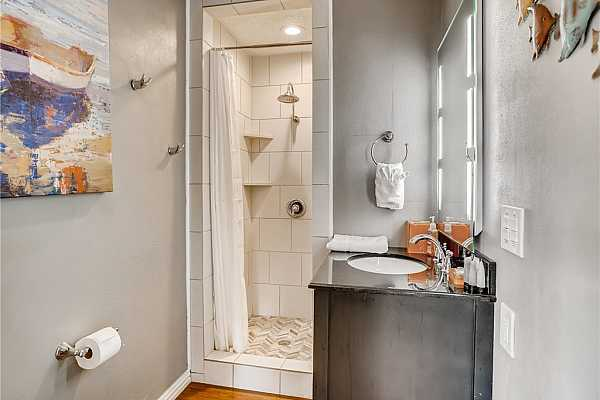 Photo #19 Large Full Secondary Bathroom with Walk-In Shower.