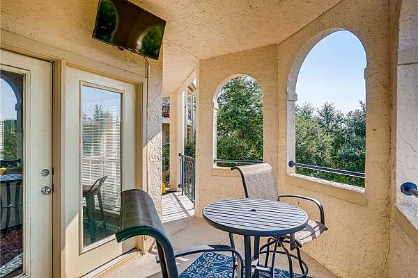 Photo #20 Open porch for wonderful views and outdoor T.V.