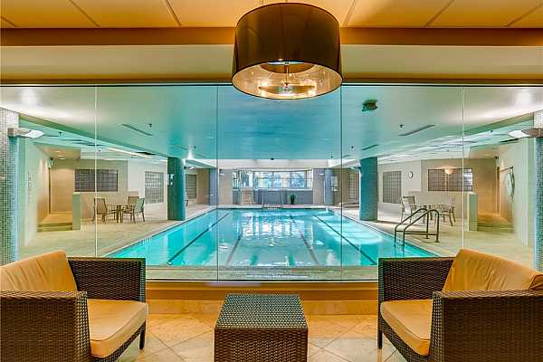 Photo #26 Indoor pool in the community to enjoy!