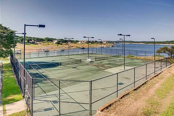 Photo #27 Enjoy playing tennis by the shores of Lake Travis!
