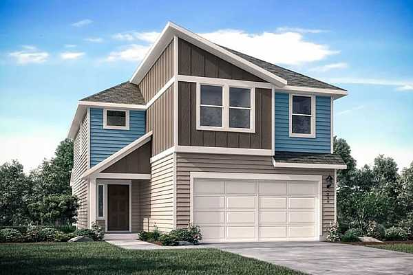Photo #1 Cantata F Rendering ~ Built by Taylor Morrison ~ December Completion