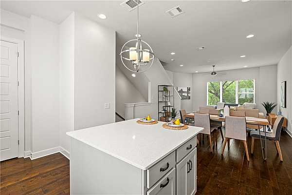 Photo #24 Open floor plan is ideal for entertaining.