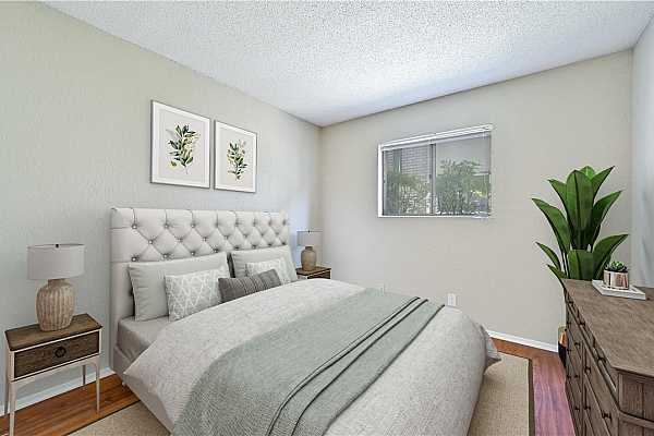 Photo #24 A versatile secondary bedroom is just down the hall. (Note: this room has been virtually staged)