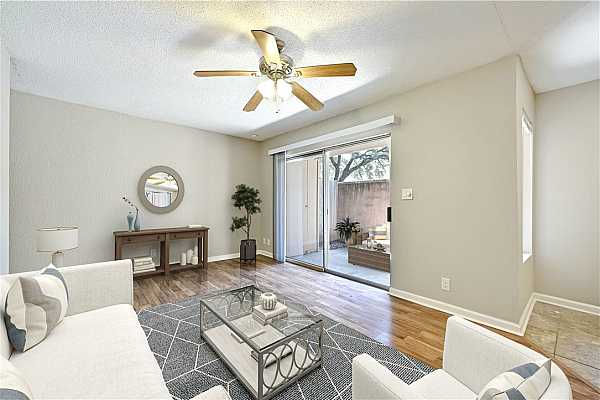 Photo #4 Virtual staging allows you to picture how you could optimize the space.