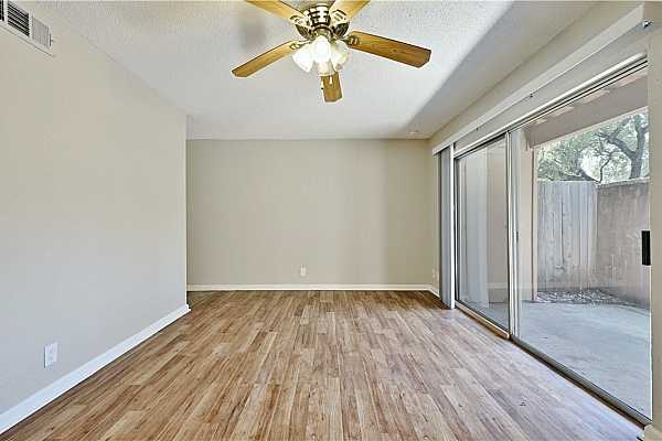 Photo #9 A ceiling fan overhead ensures energy efficiency and will keep you cool year-round.