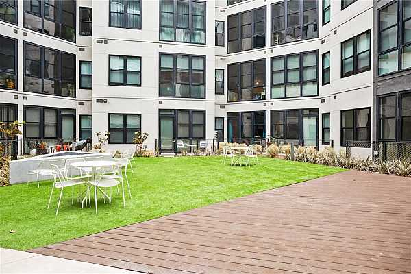 Photo #34 Interior courtyard that this unit overlooks.